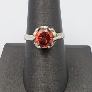 Jewelry - Mexican Fire Opal Sterling Silver Ring